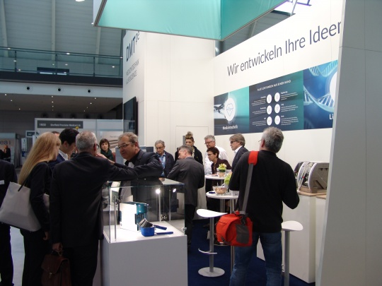 Medtec Stand voll